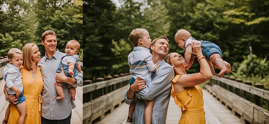 Stowe Vermont Family Photography