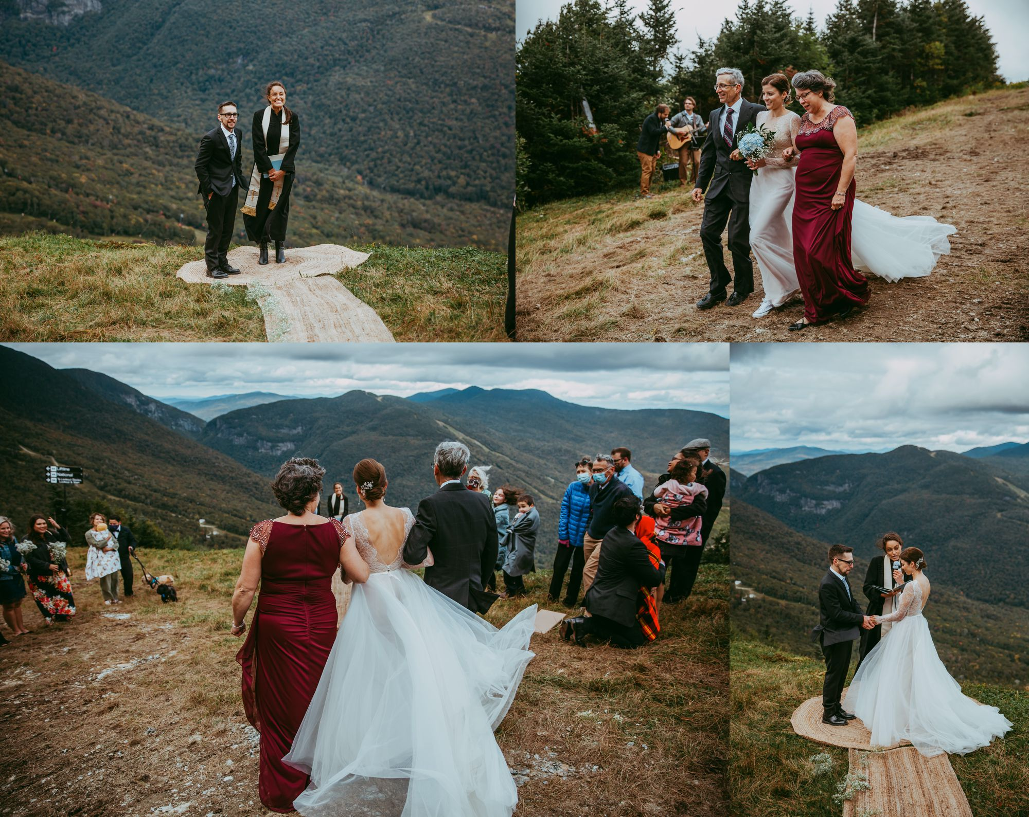 Mt Mansfield Ceremony Outdoors