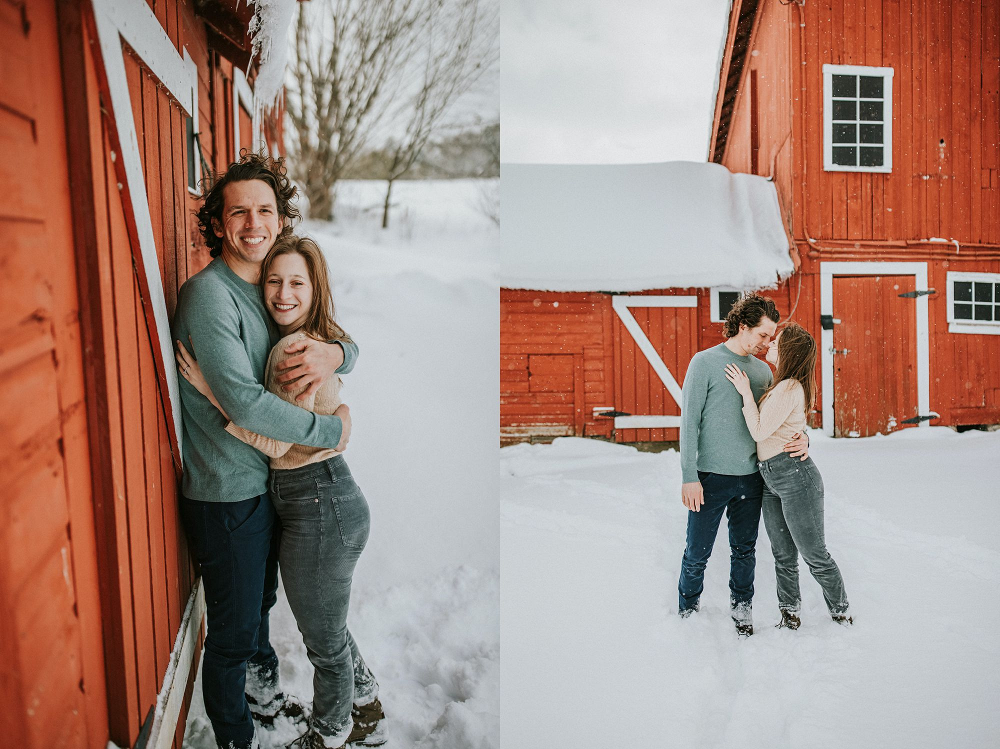 Spear Farm Barn Engagement