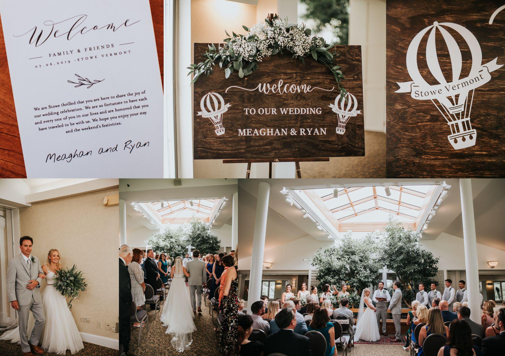 Stoweflake Wedding Details