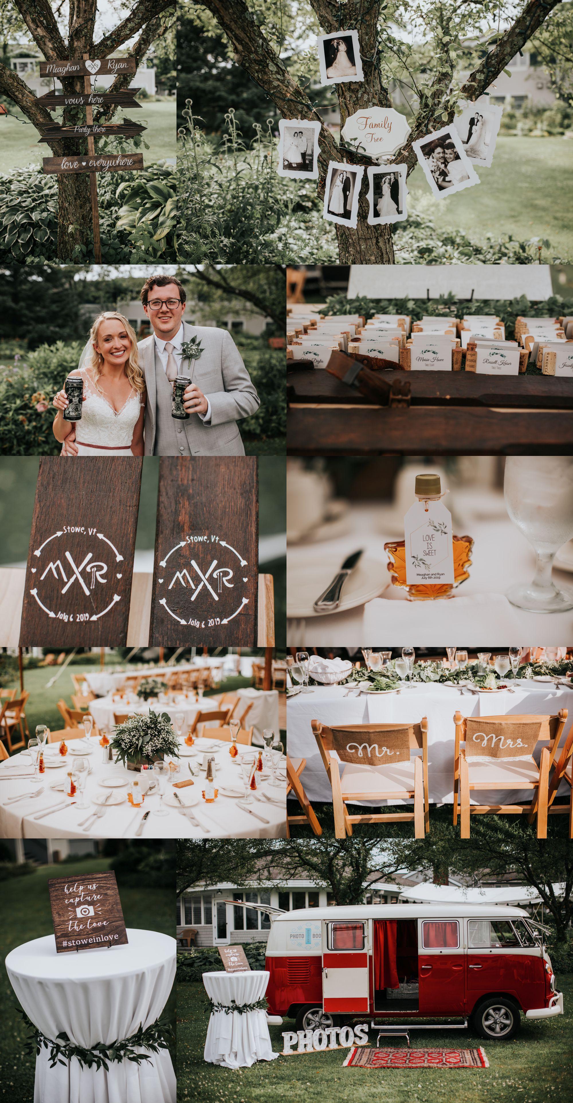 Stoweflake Bride and Groom Wedding