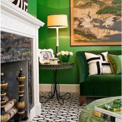 Marge Carson Chairs Swing Chair In Room 2013's Color Of The Year: Emerald Green | Savannah Collections Blog