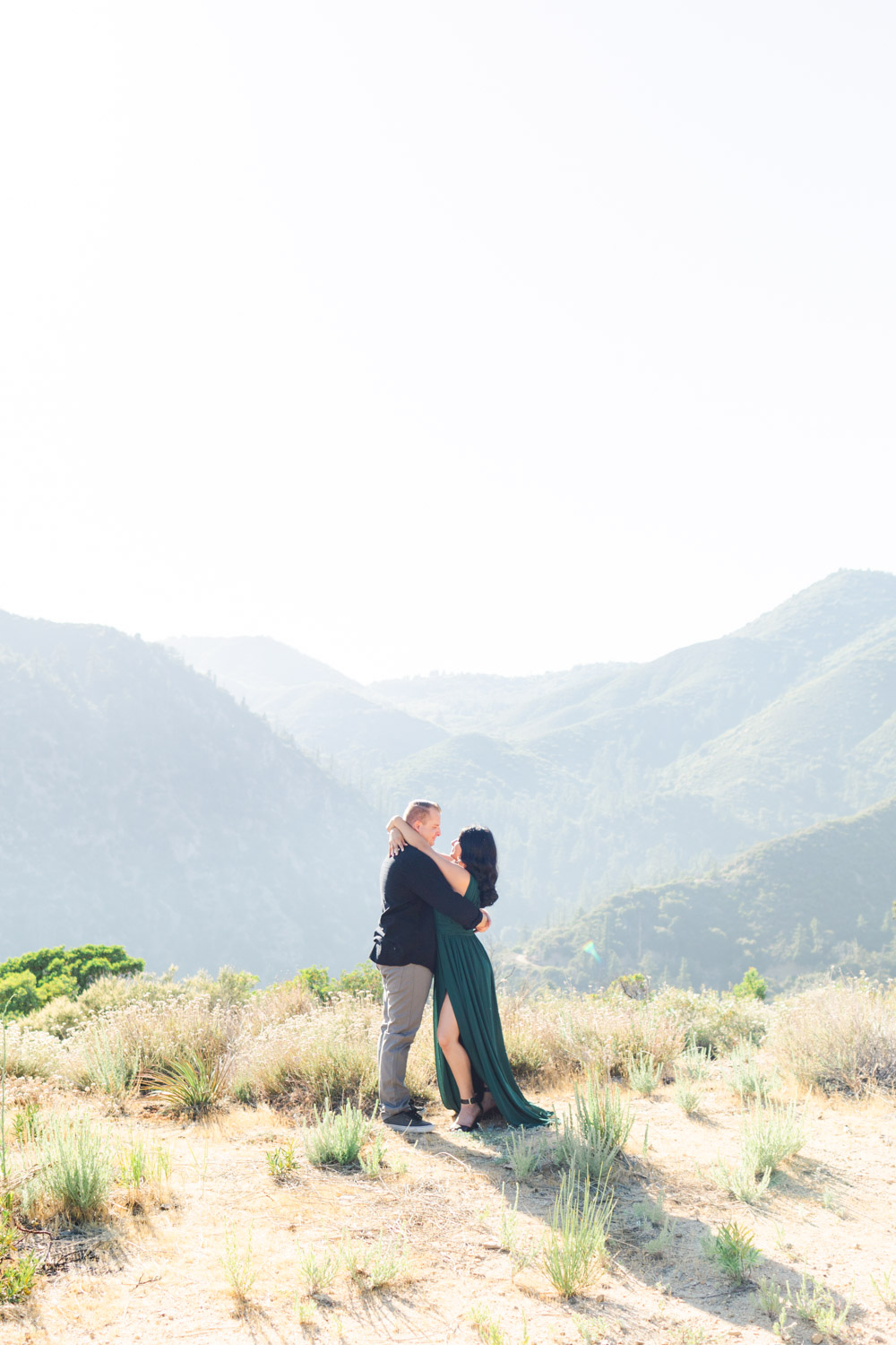Savannah Michelle Photography Light and Airy Big Bear Lake Engagement Photography