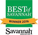 Best of Savannah 2016 Badge