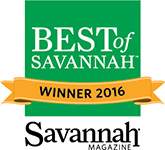Best of Savannah 2016 Badge