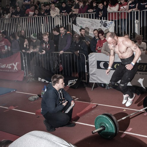 Battle of London • Barbell Burpee
