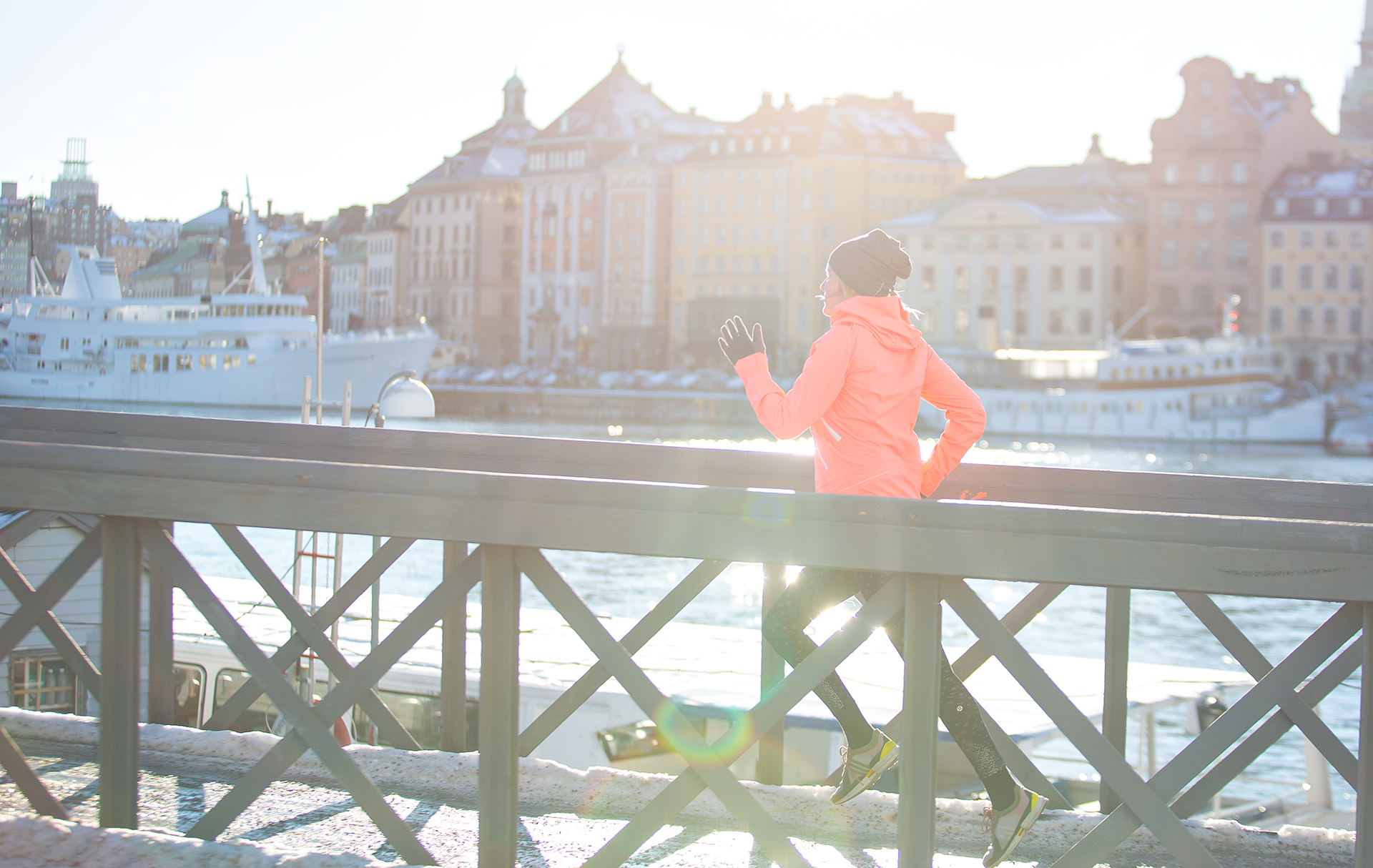 Fitness Photographer with lululemon in Stockholm, Sweden