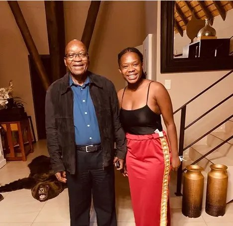 Lilly from Uzalo is former President Jacob Zuma's child