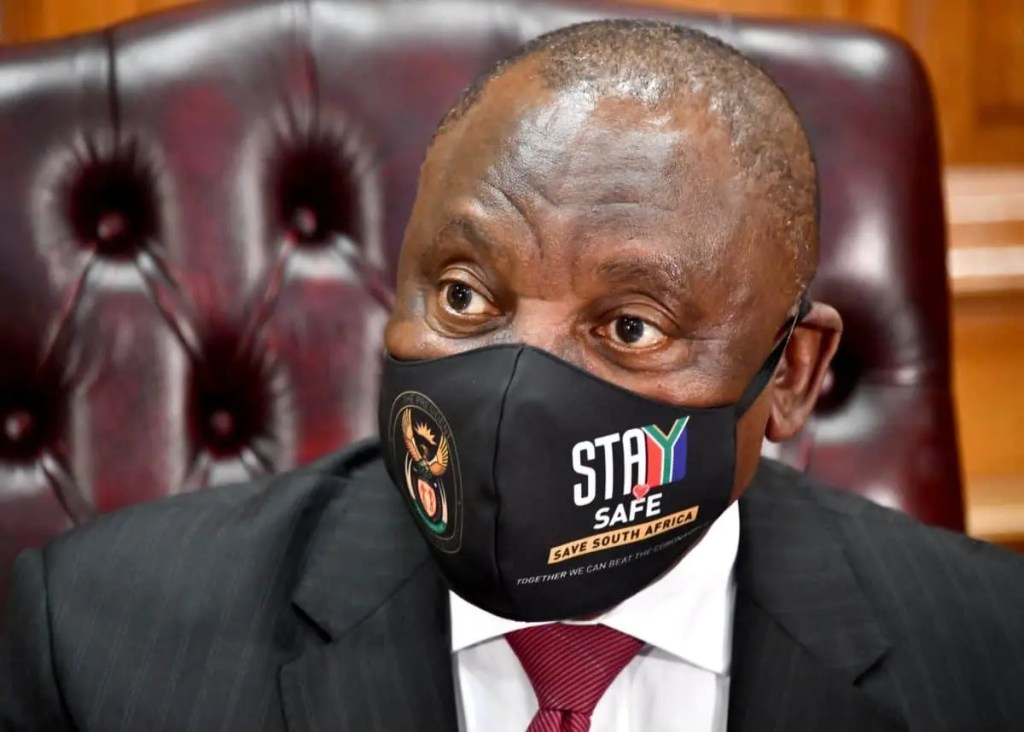 President Cyril Ramaphosa exposed to Covid-19, goes in self-quarantine