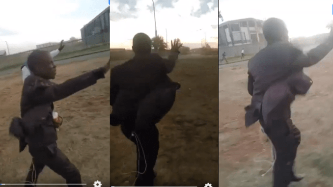 Prophet Mboro Prays For Heavy Wind To Stop Blowing In A Viral Video