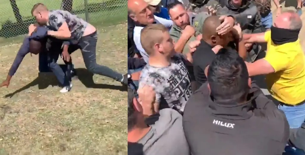 Brackenfell High School Videos, EFF Members Fight With White Parents
