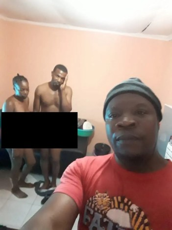 Husband catches wife and bestfriend with pants down. Takes selfies for evidence