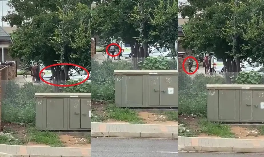SAPS Booze Delivery; Police officers caught on video delivering alcohol in Centurion