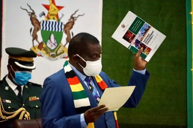 Breaking: President Mnangagwa appoints new ministers
