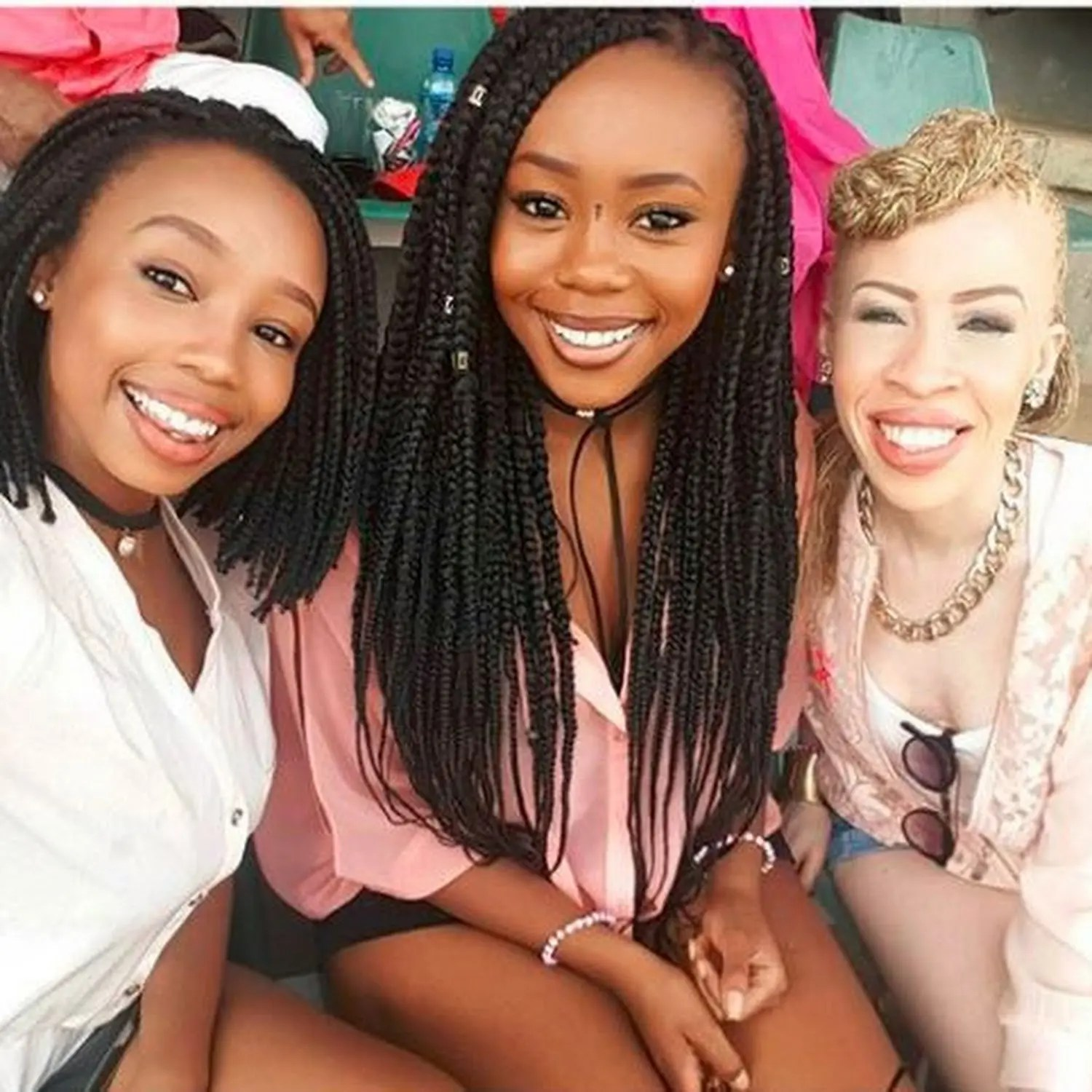 Candice and Refilwe Modiselle are sisters