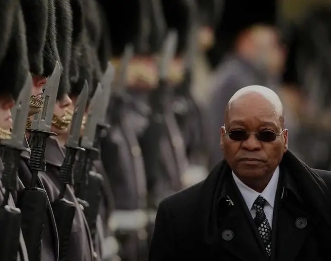 South Africans have their former president trending yet again and all for the right reasons.