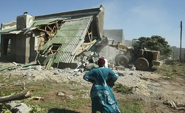 List of cooperatives' houses facing demolition in Harare