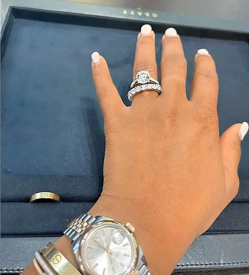 Pictures: Boity Thulo shows off her new engagement ring