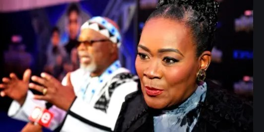 Pictures: Gomora actress Connie Chiume in America for Black Panther 2 shooting