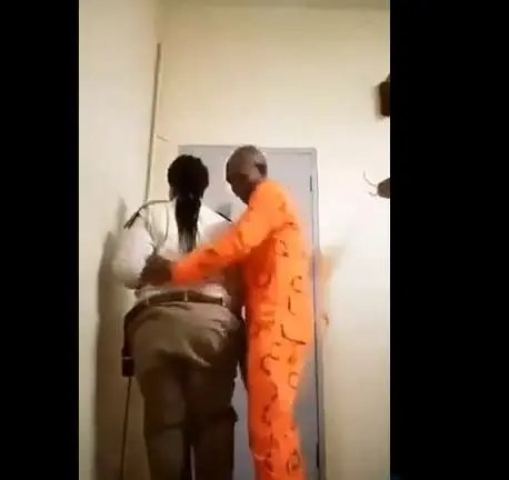 Prisoner and Warder in sex tape not married