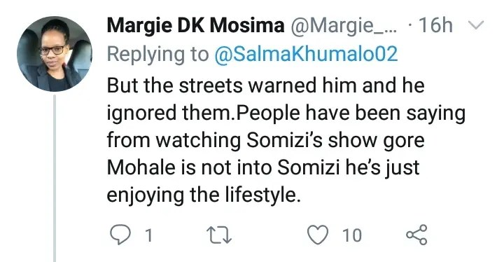 Mzansi Tweeps feel sorry for Somizi but loathes Mohale for accomplishing a money heist
