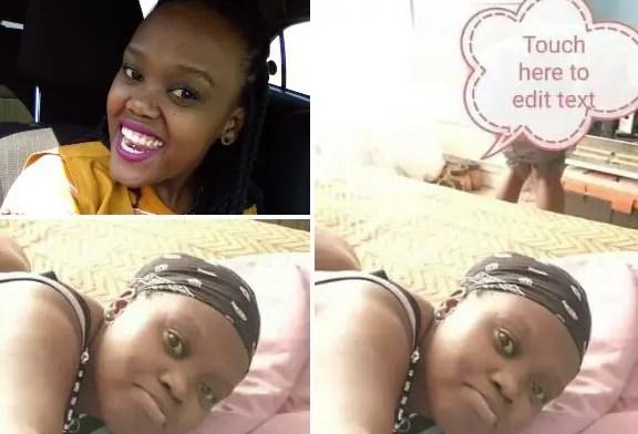 Pictures: Gauteng Lady who faked hijacking Simphiwe Manzini 'Phindile Kunene' nu_des leaked