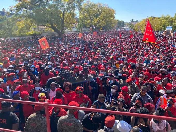 "Julius Malema takes President Ramaphosa head-on: ""He Is Killing Us"""
