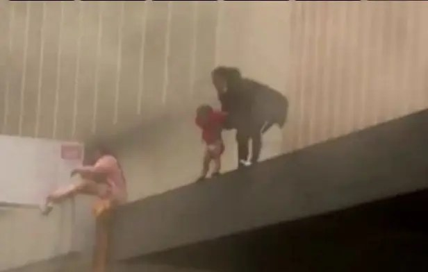Durban mother finally speaks out after tossing toddler from rooftop to strangers