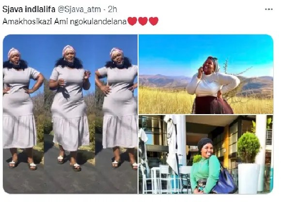 Shocking Pictures: He is a polygamist, Sjava shows off his three wives