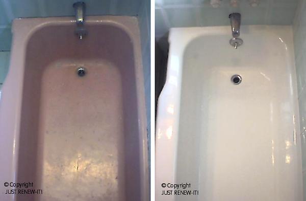JUST RENEW IT Tub Amp Tile REGLAZING REFINSHING