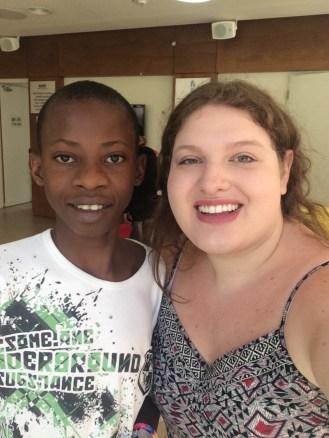 Me and Hamidu from Tanzania