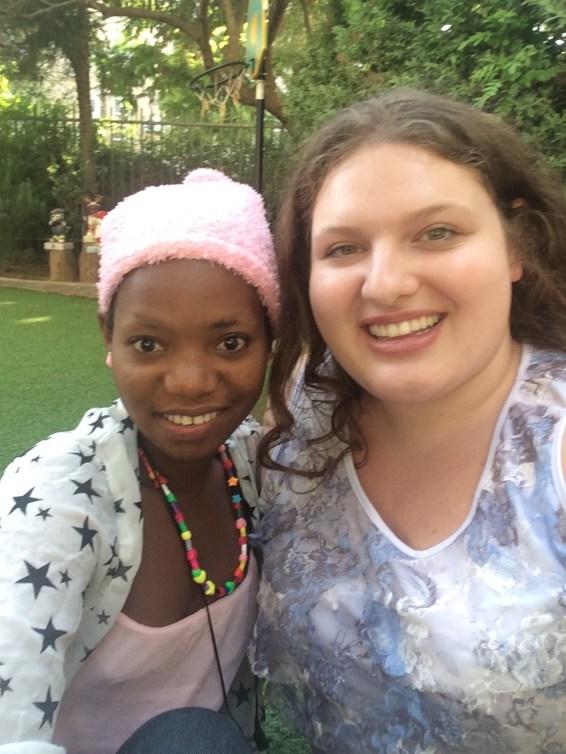 Me and Paulina from Tanzania