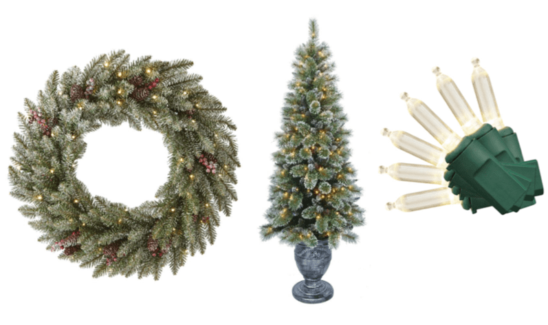 The Home Depot: Christmas Trees, Decorations, Lights, And