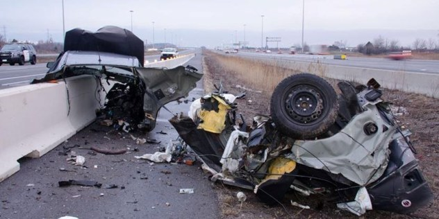A Whitby man died in a collision on Hwy. 403 on April 28