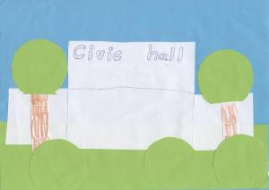 A 7 year old's view of the Civic Hall