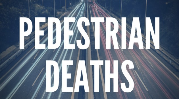 Pedestrian deaths - save civita