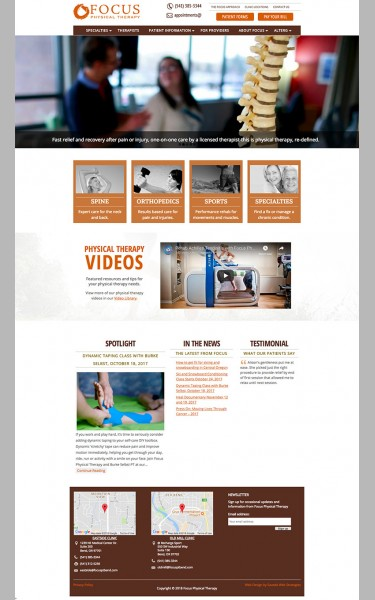 responsive website design by Saveda Web Strategies