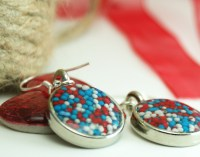 Patriotic Resin Jewelry DIY | Saved By Love Creations