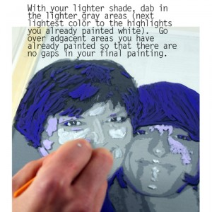 Painting portrait