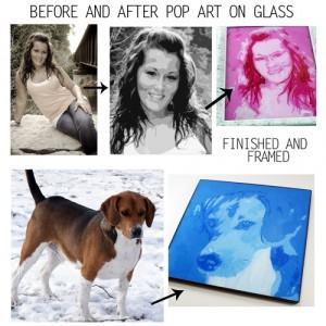 DIY pop art pictures