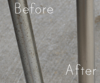 Flea Market Revamp; How to Remove Rust from Chrome Vintage ...