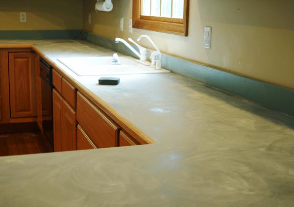 Diy Countertop Transformation With Rustoleum