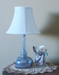 Diy Mercury Glass Lamp | www.imgkid.com - The Image Kid ...