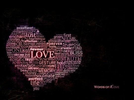 Wallpaper: streamline69 - .Words of love. wallpaper pack