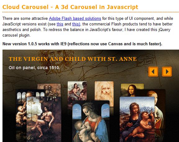 jQuery Carousel Sliders