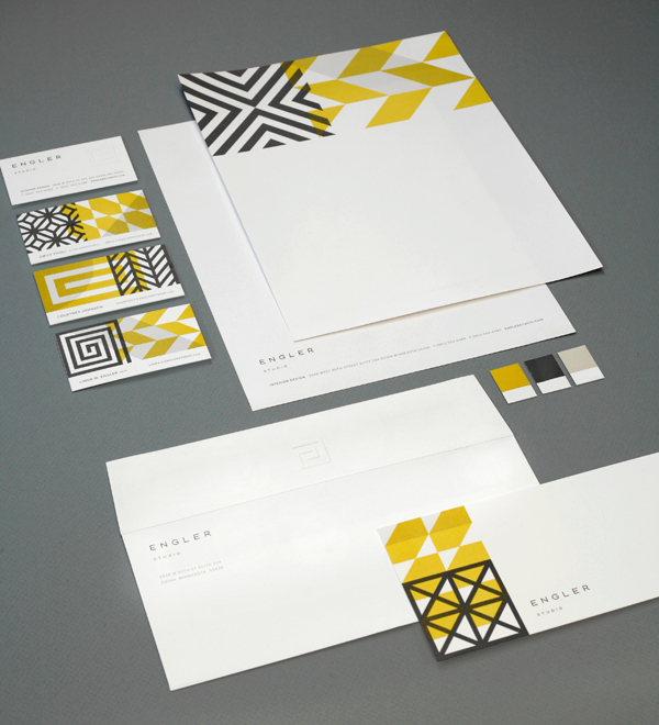 Engler Studio Identity by Eight Hour Day