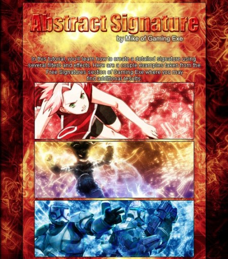 Abstract Signature