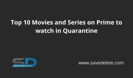 Top 10 Amazon Prime Series