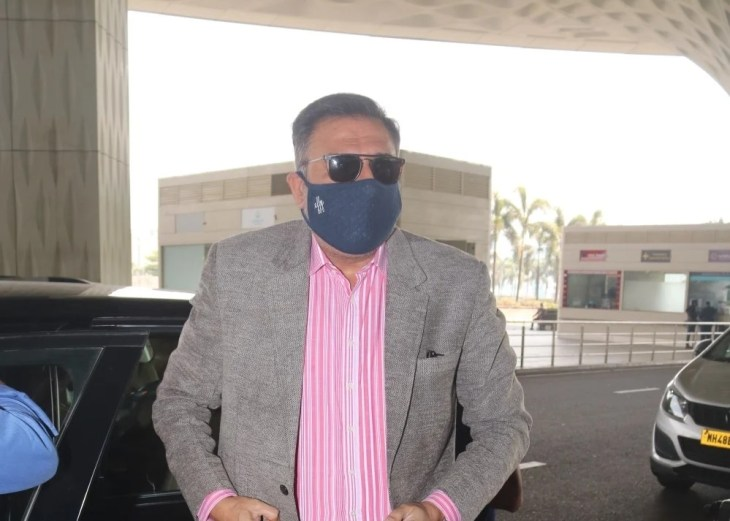 Boman Irani spotted at Airport departure