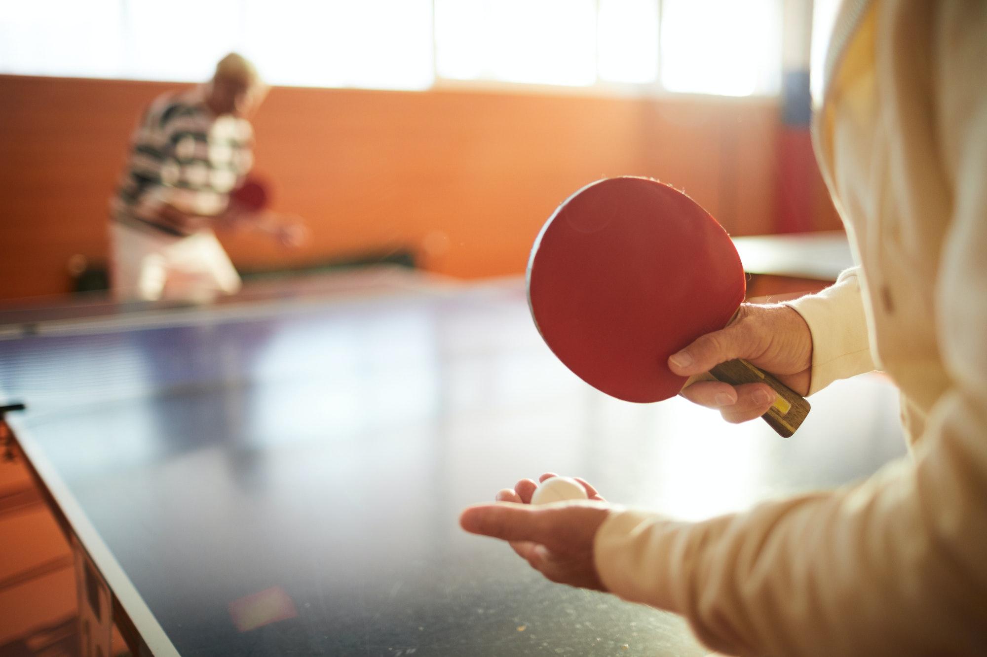 Ping pong supplies